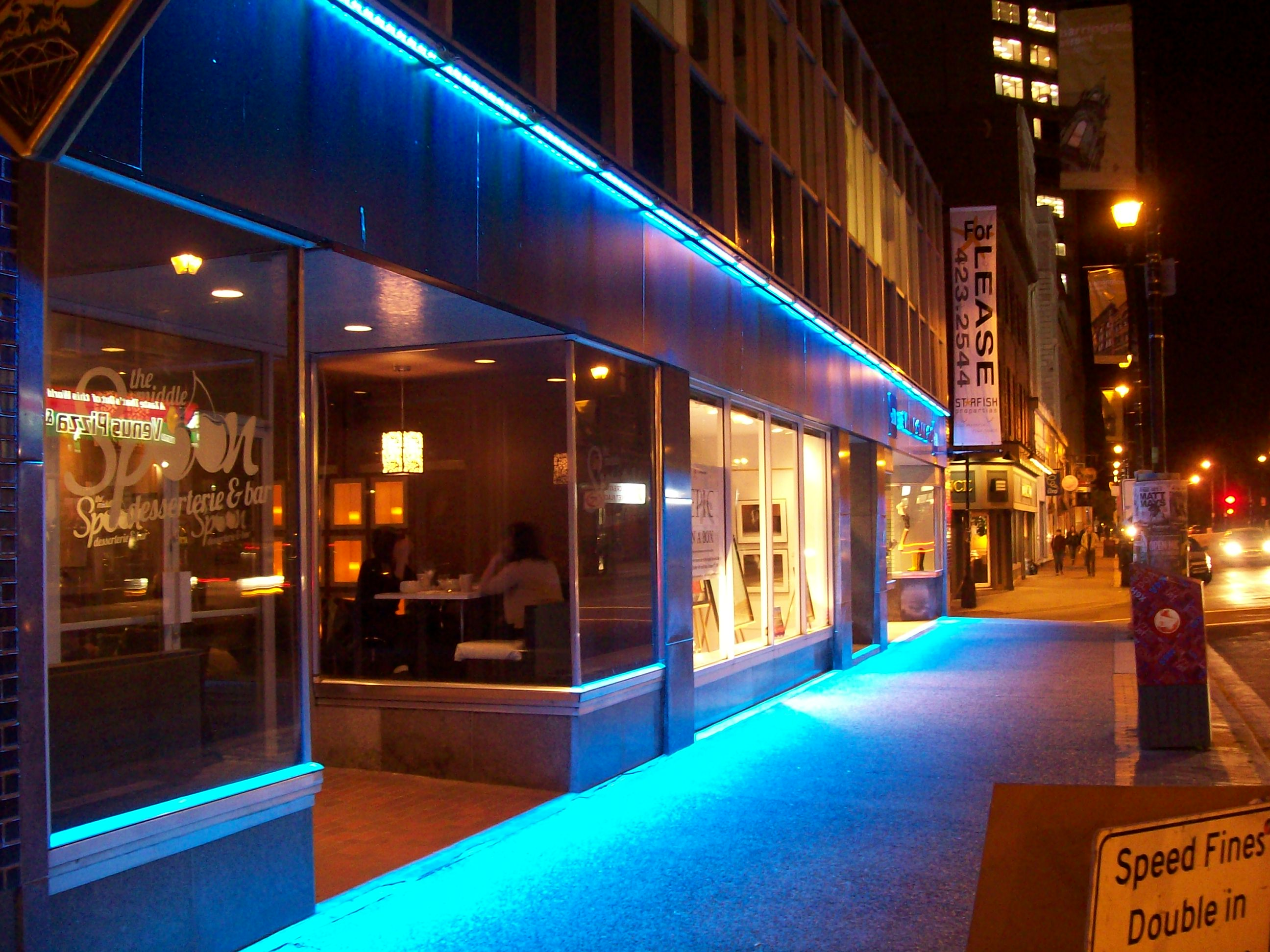 Ledelco custom led lights and lighting in halifax nova scotia led lighting is a cost effective energy efficient way to illuminate and attract attention to any area or structure many led products have the ability to aloadofball Choice Image